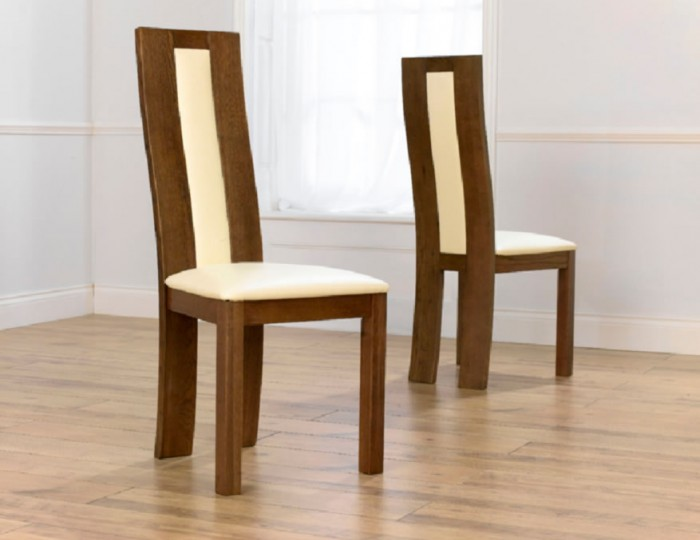 Anton Dark Oak Dining Chairs