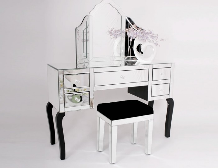 Minerva Mirrored Dressing Table