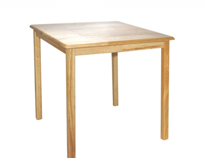 Hayley small square kitchen table for Kitchen table only
