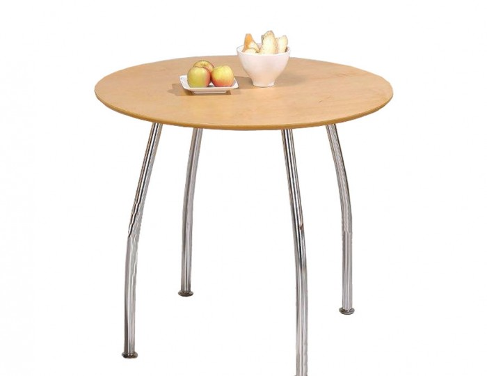Owl round maple breakfast table for Kitchen table only