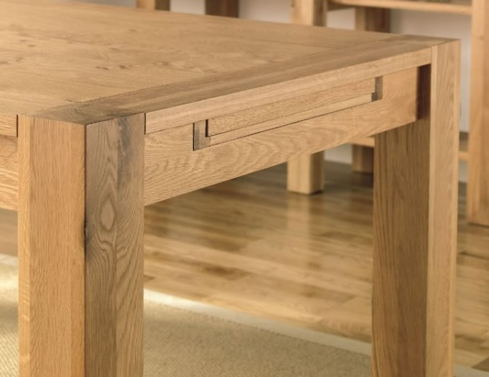 Lyon Oak Extending Dining Table