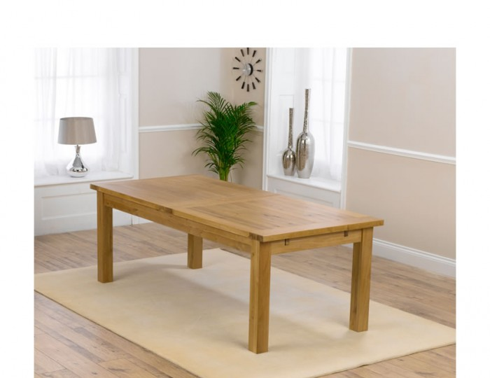 Aztec Oak Large Extending Dining Set