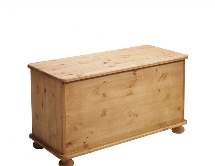 Lord Small Wooden Blanket Box
