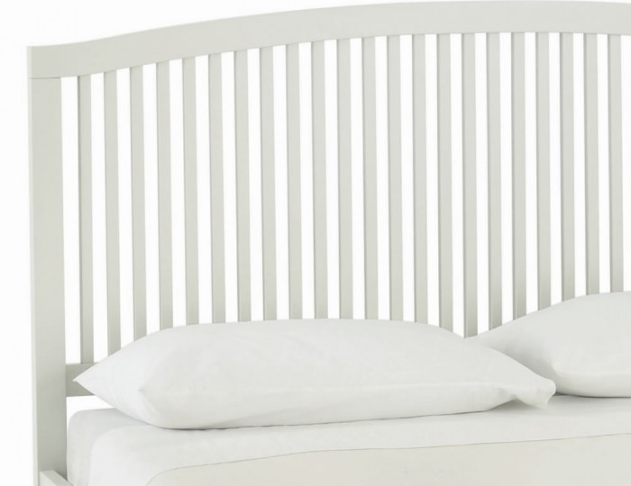 Ashby Cotton Slatted Bed Frame