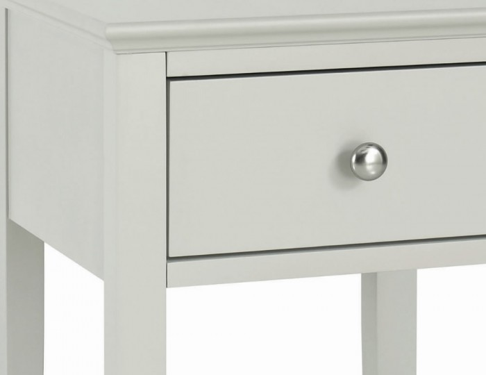Ashby Cotton 1 Drawer Nightstand