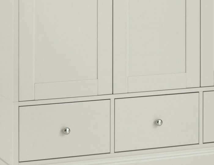 Ashby Cotton 3 Door Wardrobe
