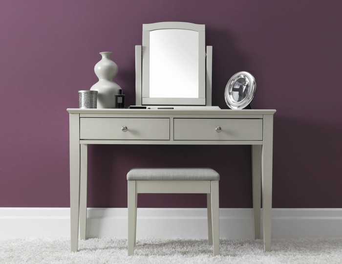 Ashby Single Cotton Dressing Table