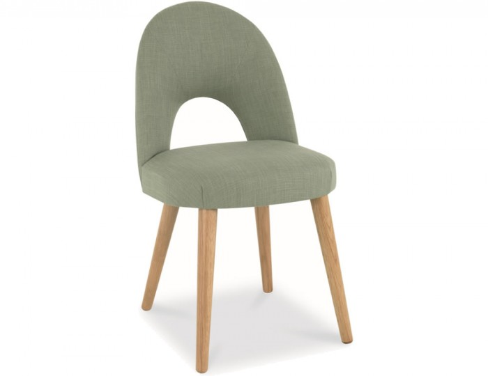 Orbit Aqua Green Upholstered Dining Chairs