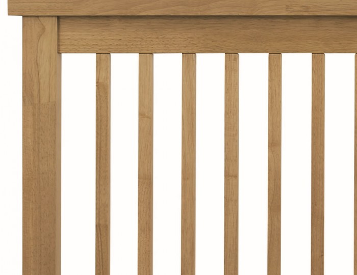 Atlanta Oak Slatted Headboard