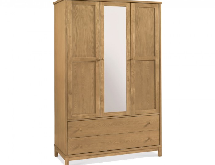 Atlanta Oak 3 Door Wardrobe