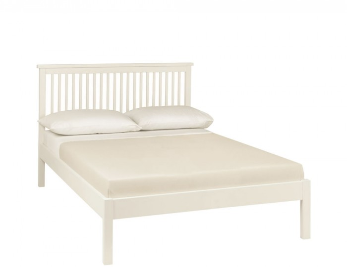 Atlanta White Low Footend Bed