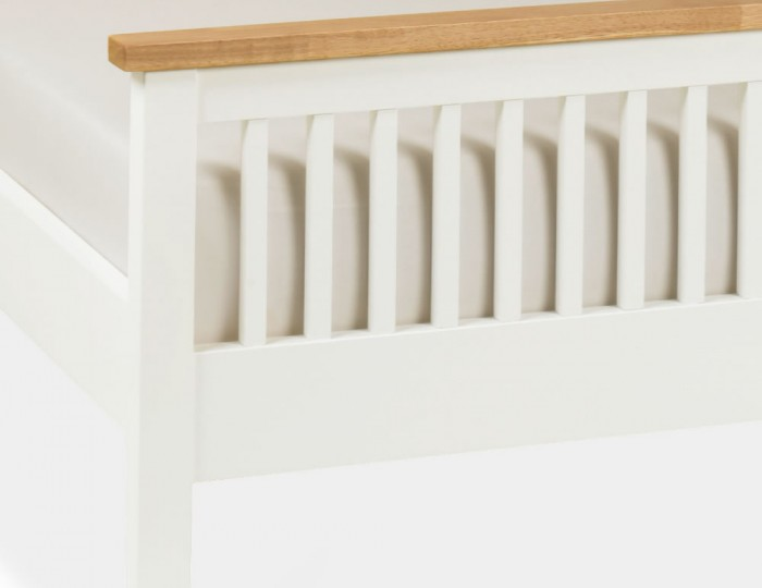 Atlanta Two Tone High Footend Bed