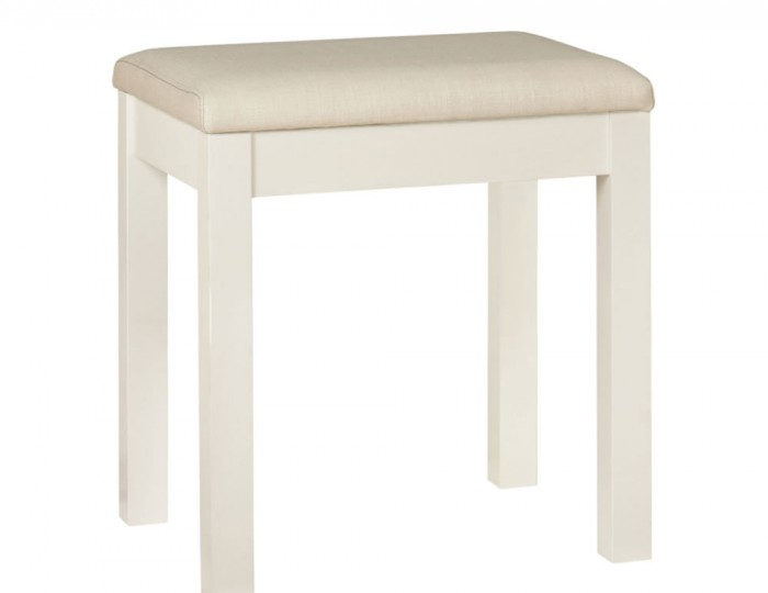 Atlanta White Single Dressing Table