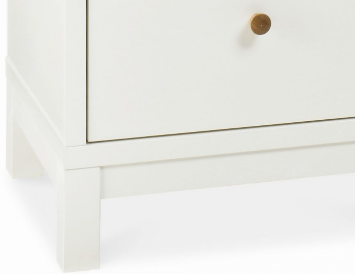 Atlanta Two Tone 5 Drawer Tall Chest