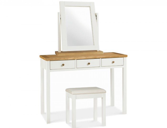 Atlanta Two Tone Single Dressing Table