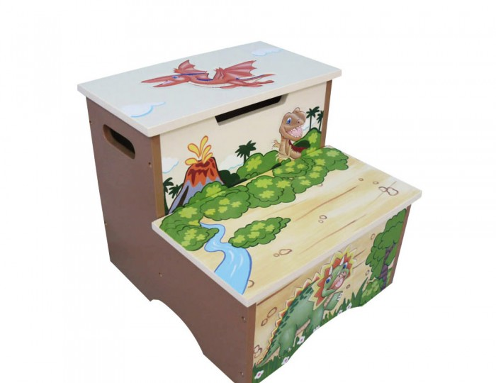 Dinosaur Kids Step Stool