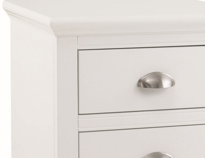 Hampstead White Bedside Chest