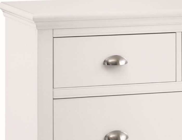 Hampstead White 2+2 Drawer Chest