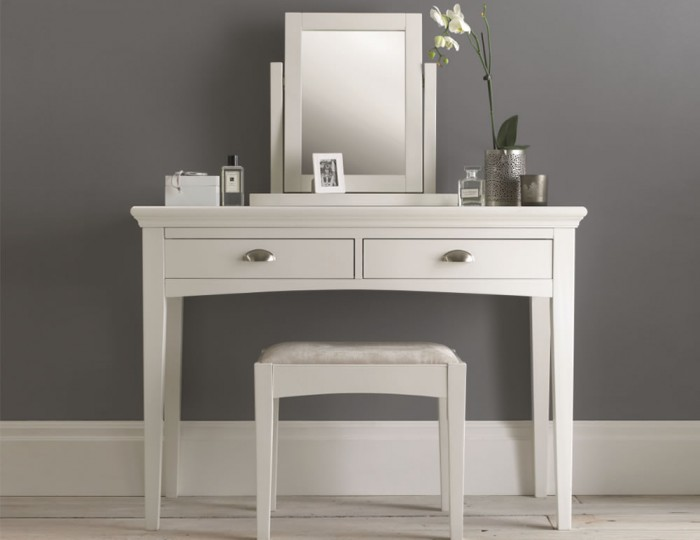 White Table Uk Part - 39: Hampstead White Dressing Table