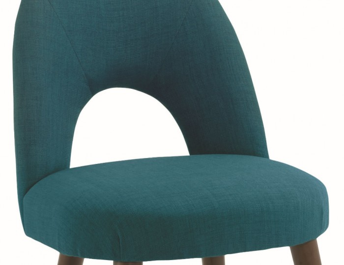 Oslo Teal Upholstered Dining Chairs