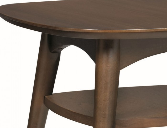 Oslo Walnut Lamp Table