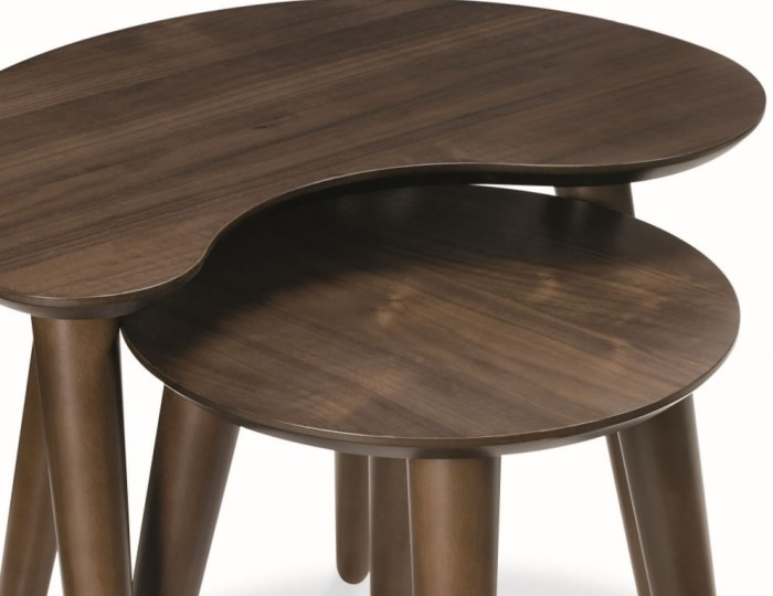 Oslo Walnut Nest of Tables