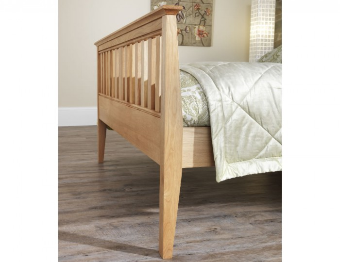 Salisbury Oak High Footend Bed