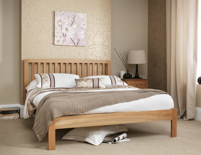 Thornton Oak Bed Frame