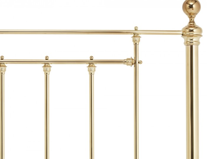 Benjamin Brass Metal Headboard