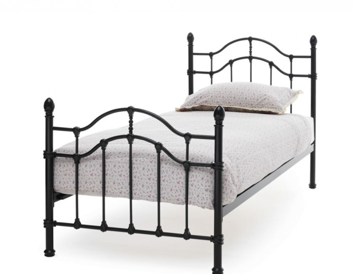 Paris Black Metal Bed Frame