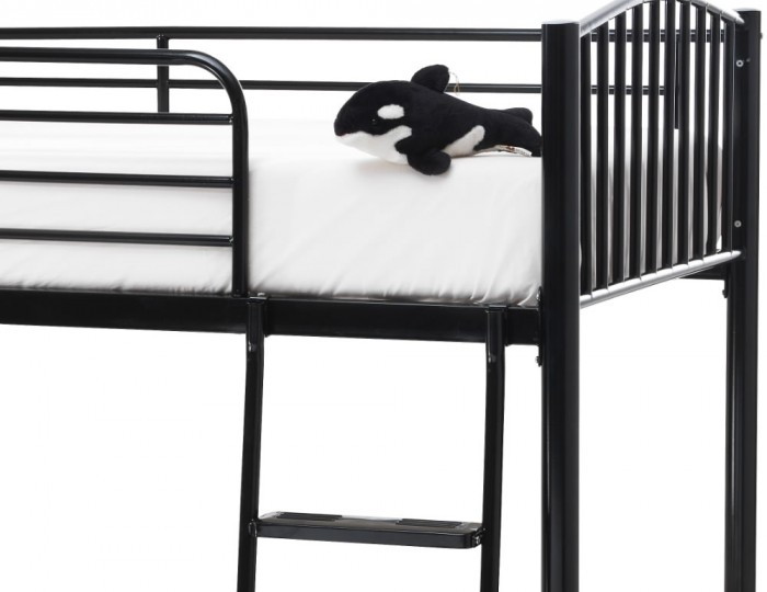 Oslo Black Metal Bunk Bed