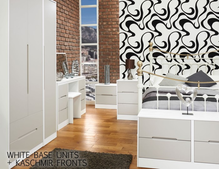Riviera Mix 'n' Match 2 Drawer Bedside