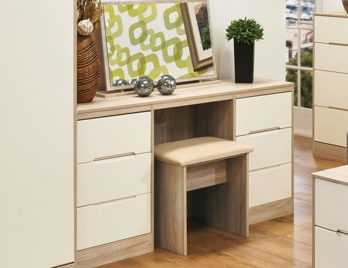 Riviera Mix 'n' Match Double Dressing Table