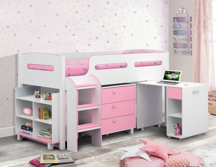 Kendo Pink and White Sleep Station