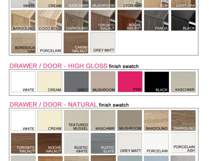 Riviera Mix 'n' Match 2 Door Wardrobe