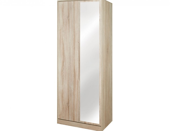 Riviera Mix 'n' Match 2 Door Mirror Wardrobe
