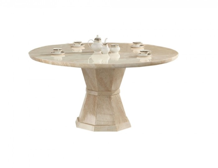 Radleigh Marble Round Dining Table