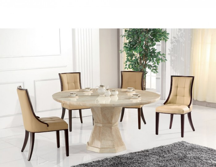 Exceptional Radleigh Marble Round Dining Table And Chairs