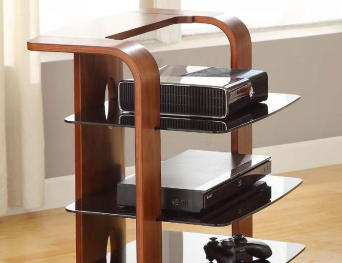 Braunton Walnut Audio Unit