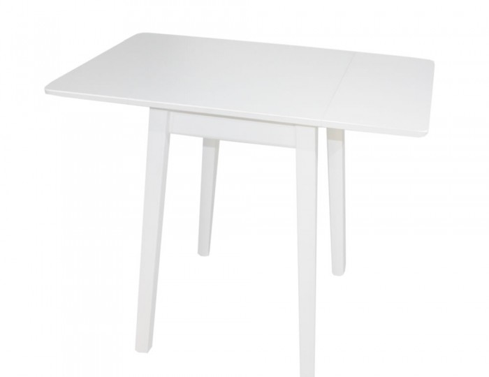 Kayleigh White Small Drop Leaf Table Only