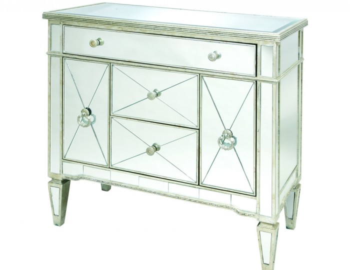 Annaba Large Mirrored Sideboard