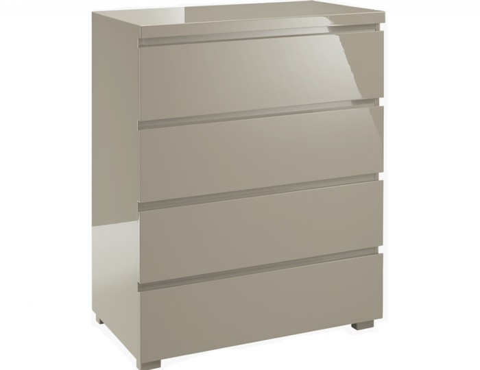 Puro stone high gloss 4 drawer chest for Sideboard puro