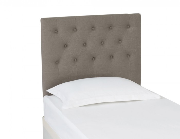 Abbey Fossil Grey Upholstered Headboard