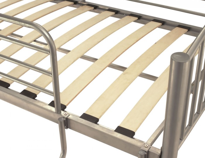 Oslo Silver Metal Bunk Bed