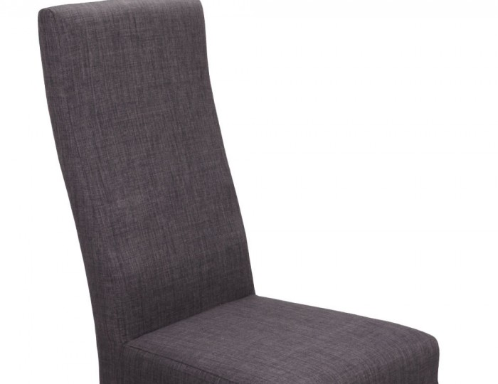 Tenterden Charcoal Linen Fabric Dining Chairs
