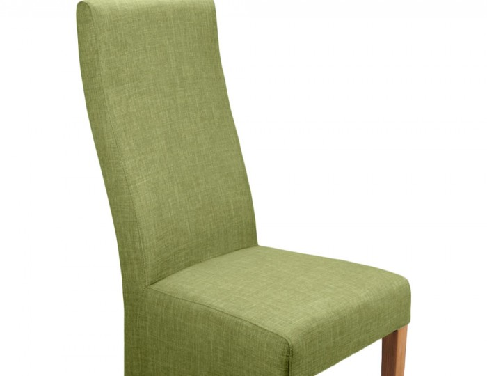 Tenterden Lime Linen Fabric Dining Chairs