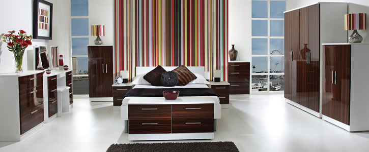 Bishop High Gloss Bedroom Furniture Launches Frances Hunt