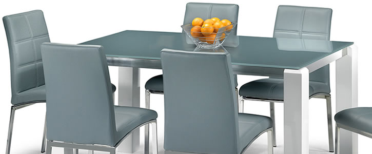 Capaci Glass Dining Set