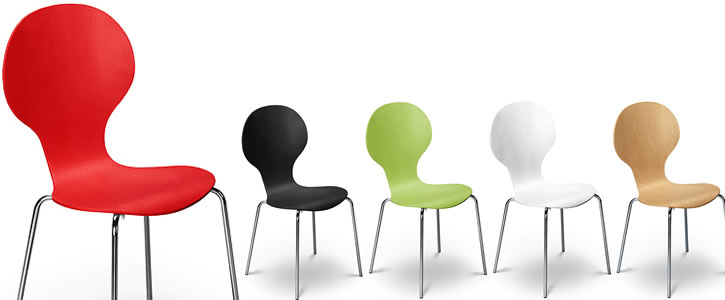 Keeler Dining Chairs, add colour into your Kitchen. - Frances Hunt