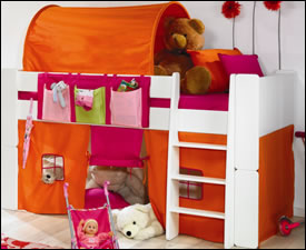 Taylor Childrens Mid-Sleeper Bunk Bed